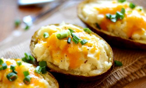 Cauliflower Twice Baked Potatoes