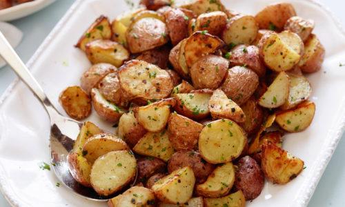 Diced Garlic Red Potatoes