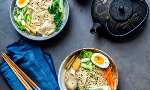 Ginger & Lemongrass Noodle Soup